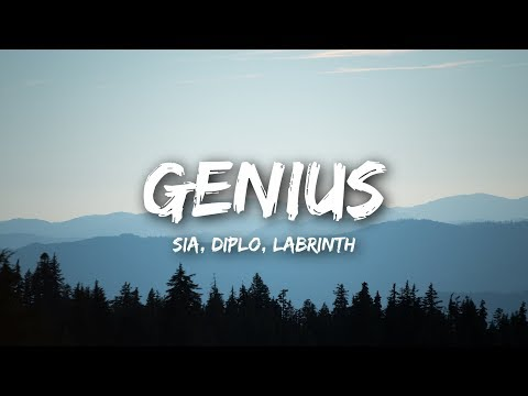 LSD - Genius (Lyrics) ft. Sia, Diplo, Labrinth