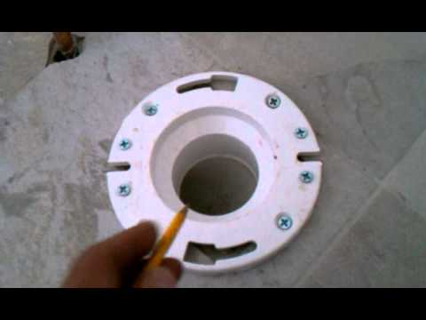 How To Rough In A Shower Drain In Concrete Floor