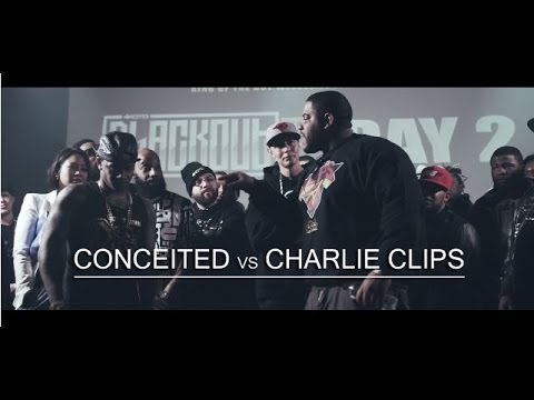 KOTD - Rap Battle - Conceited vs Charlie Clips *Co-Hosted By Smack White*