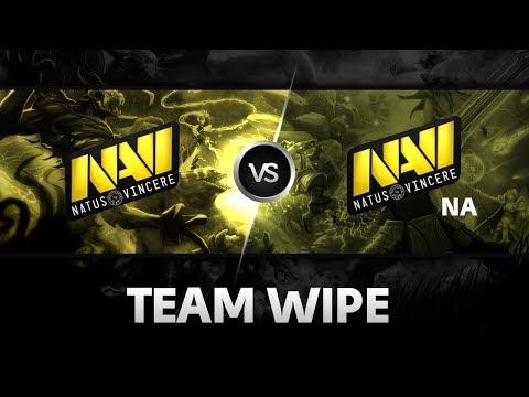 Team Wipe by Na'Vi.NA vs Na'Vi @ The Summit