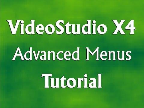 Corel VideoStudio Pro X4 - Advanced Menus Tutorial