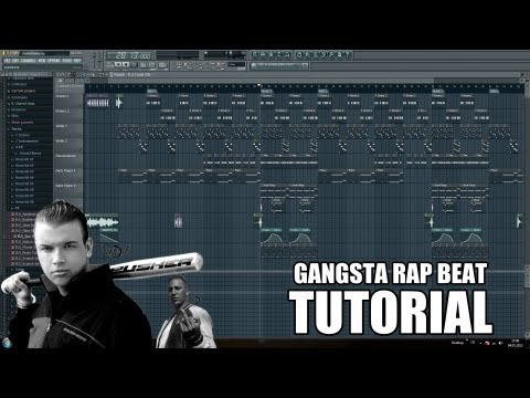 Gangsta Rap Beat Tutorial: German deutsch Fl Studio 10 (how To Make A Hip Hop Beat) video