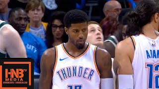 Oklahoma City Thunder vs Milwaukee Bucks 1st Qtr Highlights   10.09.2018, NBA Preseason