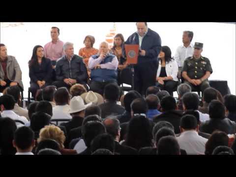 En gira de trabajo EPN inaugura nueva libramiento en Tlaxcala