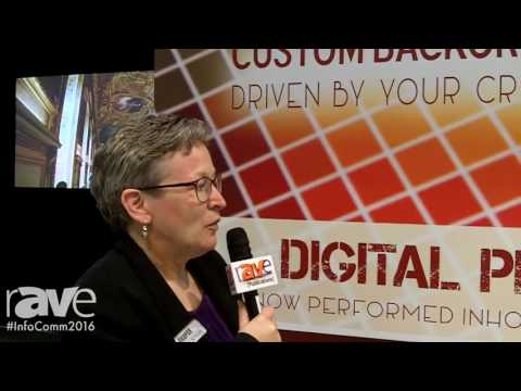 InfoComm 2016: Draper Shows Custom Backgrounds Printing
