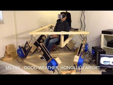 DIY 6DOF Platform - FSX Oculus Rift