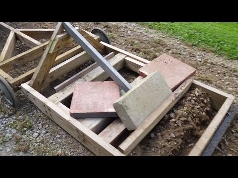 Homemade Driveway Grader (for lawn or garden tractor)