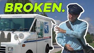 Postal Delivery Trucks Stink. Let's Redesign Them.