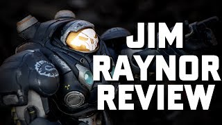 Starcraft 2 Jim Raynor  Heroes of the Storm Action