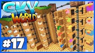 """Ich bin ZURÜCK! STADT-TOUR + Was kommt jetzt?- Minecraft """"SKY WORLD"""" #17"""