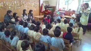 2013/11月誕生会第2部クラス活動あお組