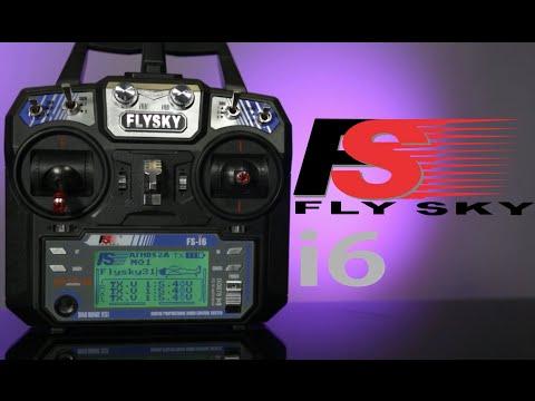 Flysky i6 AFHDS 2A 2.4Ghz Radio Control System