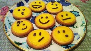 Печенье Смайлики/Cookies Smiles/Очень Вкусный и Простой Рецепт Печенья/Песочное Печенье