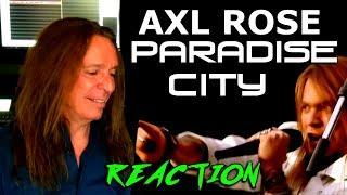 Vocal Coach Reaction To Axl Rose - Guns N Roses - Paradise City - Ken Tamplin