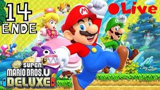 Bowser wir vernichtet [New Super Mario Bros. U Deluxe[LIVE]][#14][Live][Switch]