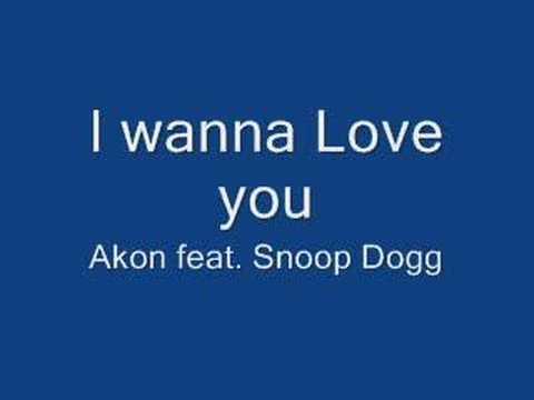Akon -- I wanna Love you