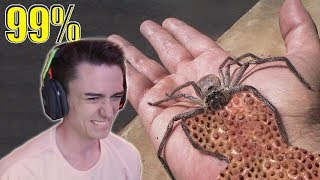 TRY NOT TO FLINCH OR GET SCARED CHALLENGE (IMPOSSIBLE 99% FAIL)