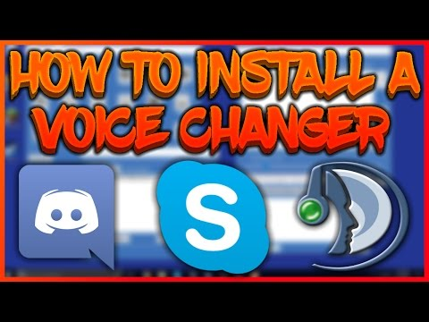 HOW TO INSTALL A VOICE CHANGER (DISCORD/SKYPE/TEAMSPEAK) [WORKING]