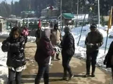Kashmir Gulmarg Snow December
