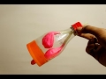 How to make lungs with balloons - life hacks for kids