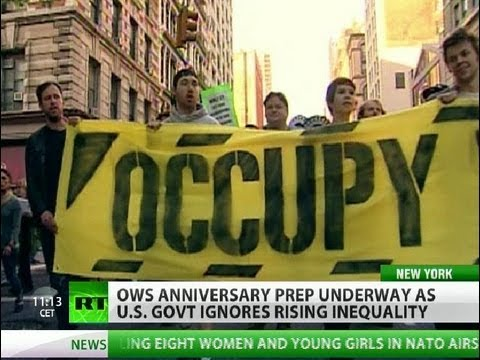 OWS 1 year on: 'We have to be courageous to re-ignite millions'