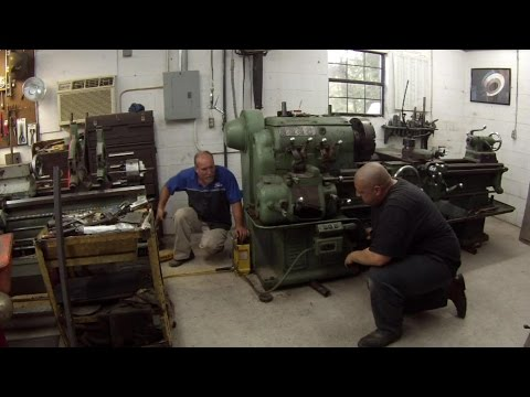Moving and Leveling the Monarch Lathe