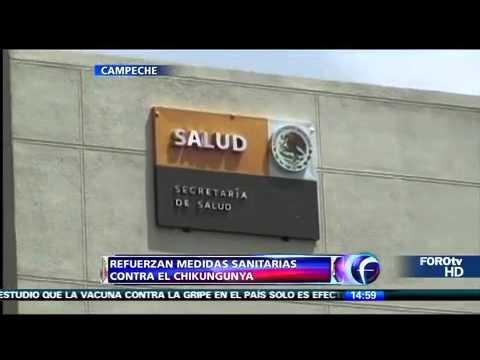 Refuerzan medidas sanitarias contra el chikungunya en Campeche