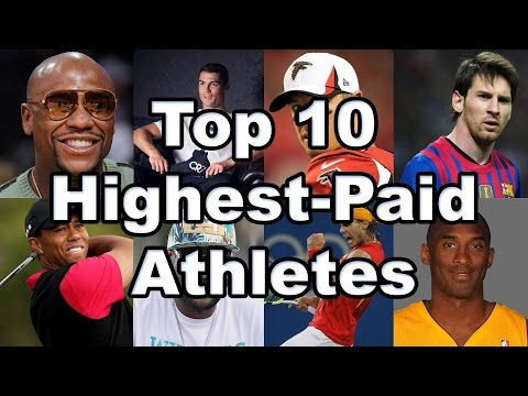 Top 10 Highest Paid Athletes 2015