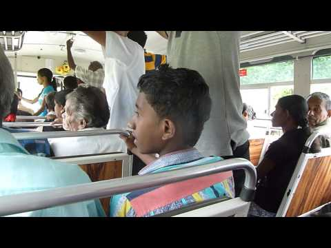 Inside Another Sri Lankan Bus video