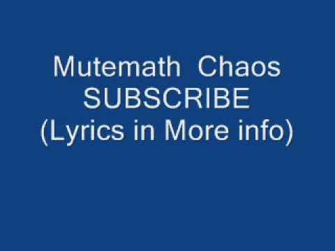Mute Math - Chaos