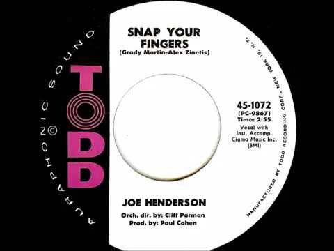 Joe Henderson - Snap Your Fingers