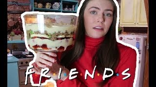 I Made Rachel's Thanksgiving Trifle from FRIENDS