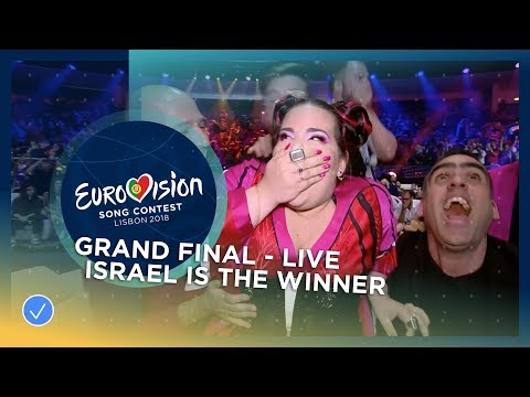Netta from Israel wins the 2018 Eurovision Song Contest!
