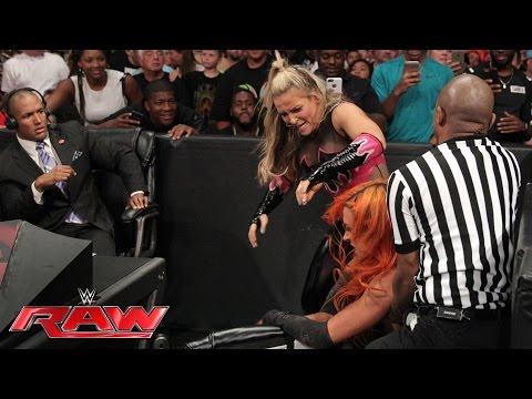 Becky Lynch gets retribution against Natalya: Raw, June 27, 2016