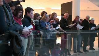 Paris Choral Society Flash Mob Sings the Messiah Hallelujah