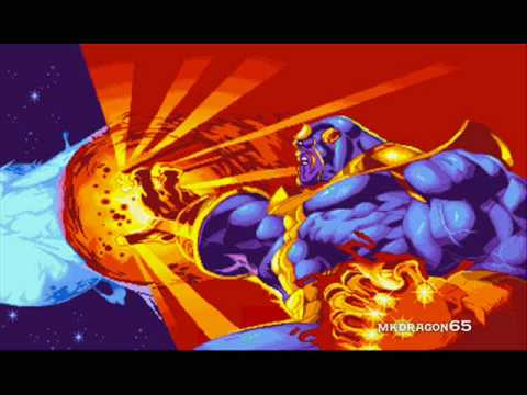 Marvel Super Heroes OST, T16 -  Thanos