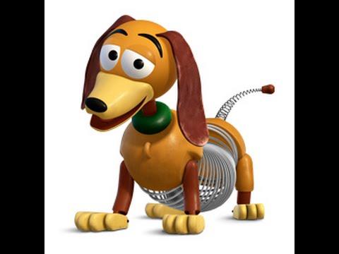 0 Disney Toy Story Chien Slinky Dog Figurines Jouets Pour Les Enfants