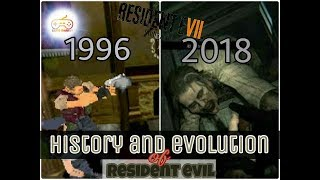 History and évolution of Resident Evil (1996-2018)