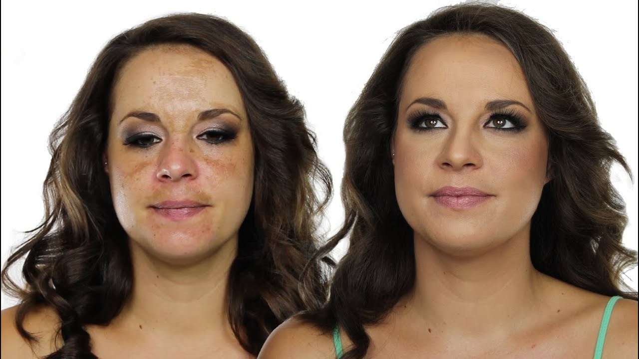 Pigmentation Using Makeup