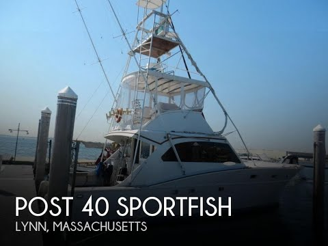Used 1973 Post 40 Sportfish for sale in Lynn, Massachusetts