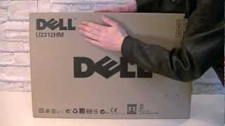 Dell UltraSharp U2312HM 23 IPS LED LCD Monitor Unboxing