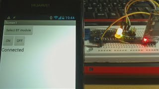 App Inventor 2 tutorial - Android Control Arduino with HC-06 Bluetooth module
