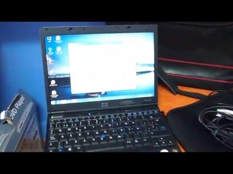 Portatil Hp Compaq NC2400 con maletines