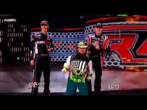 WWE Survivor Series 2009 John Cena vs Shawn Michaels vs Triple H for the WWE Champonship
