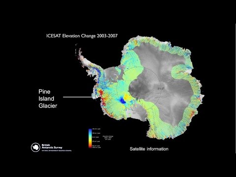 Pine Island Glacier, West Antarctica - the canary in the mine for climate change?