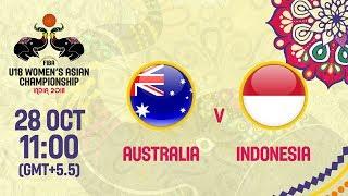 Австралия до 18 (Ж) : Индонезия до 18 (Ж)