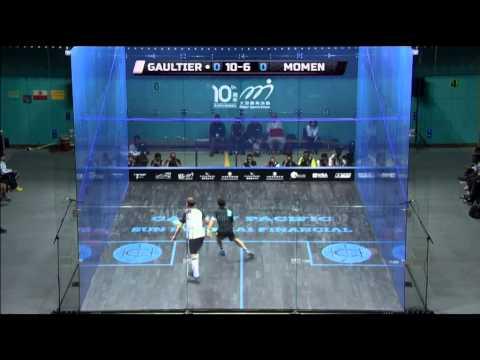 Squash : MegaRallies EP70 - Momen v Gaultier : HK Open 2014