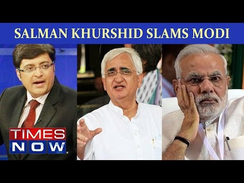 Salman Khurshid Slams Narendra Modi In Pakistan