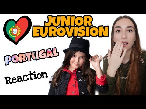 JESC REACTION | PORTUGAL | Joana Almeida - Vem comigo | Junior Eurovision 2019