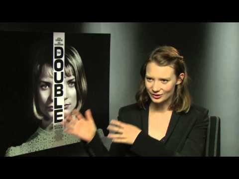 Interview: Mia Wasikowska talks THE DOUBLE